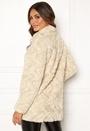 Curl High Neck Faux Fur