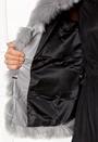 Dusk Faux Fur Short Coat