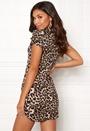 Curve Hem Mini Dress
