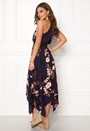 Floral Asymmetric Dress