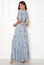 Floral Button Maxi Dress