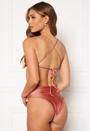 Selina crossed back bikini top