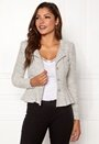 Crystalina peplum jacket