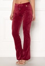 Elvira velour bootcut pants