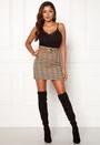 Franka belted skirt