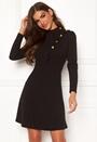 Jolanta Frill Buttoned Polo Dress