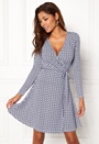 Sonnet Mini Wrap Dress