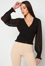 Sue ruffle blouse