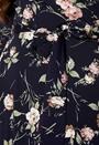 Tara 3/4 Sleeve Highlow Dress