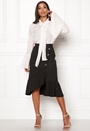 Emily Button Wrap Skirt