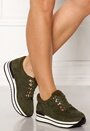 Faux Suede Sneakers