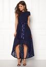 Asymmetric Lace Dress