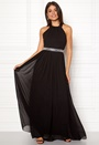 Halterneck Chiffon Dress