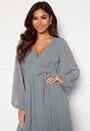 Long Sleeve Chiffon Dress