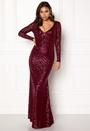 Open Back Sequin Dress
