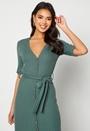 Sandie rib dress