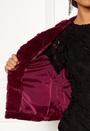 Evan Short Fake Fur Jacke