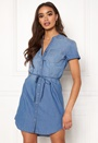 Shinest S/S Belt Dress