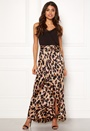 Wrap Frill Maxi Skirt