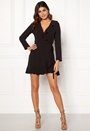 Wrap Frill mini Dress