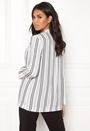 Soft Crepe Stripe Blazer
