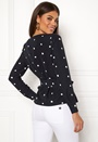 Aideen L/S Boat Neck Top