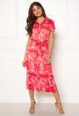 Palm S/S Midi Dress