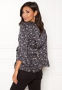 Cosmic Moment Wrap Blouse