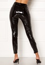Bea Glazed Faux Leather Pant