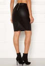 Celina Faux Leather Skirt