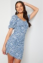 Fuchsia S/S Short Dress