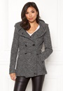 Lisa Hooded Wool Coat