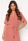 Cecile SS Long Dress