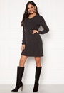Ellen V-neck Knit Dress