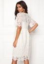 Gaia 2/4 Midi Lace Dress