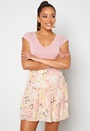 Hannah Foil Short Skirt