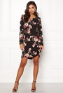 Lona L/S V-neck Dress