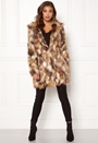 Animal Faux Fur Coat