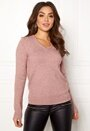 Ril L/S V-neck Knit Top