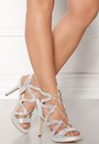 Chic Pattern Leather Heels