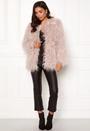 Mongolian Faux Fur Coat