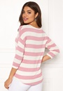 Wide Stripe 3/4 Blouse