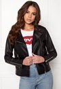 Cara Faux Leather Jacket
