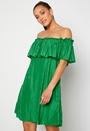 Plisra Offshoulder Dress