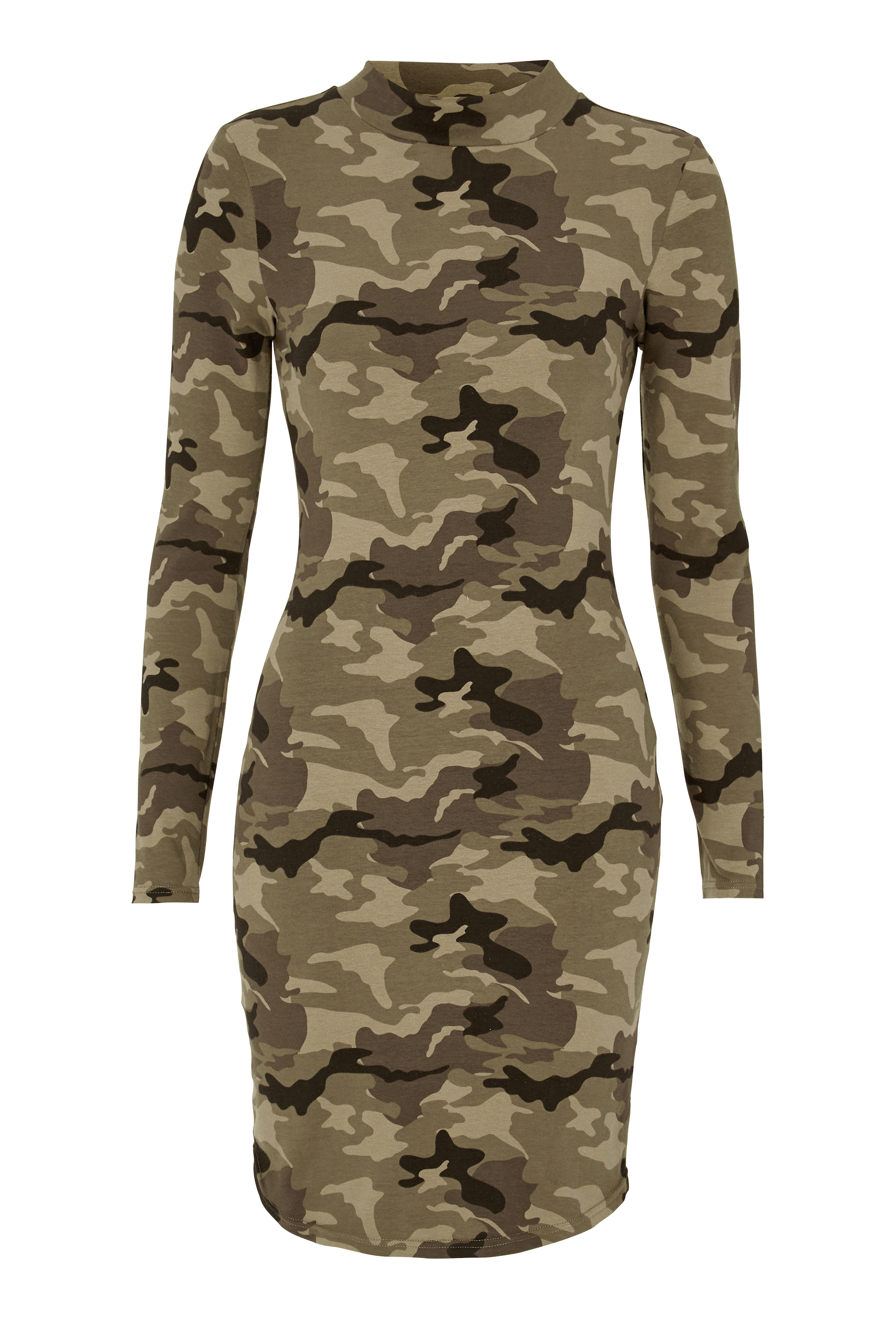 77thFLEA Brenna Camo Dress Camouflage Bubbleroom