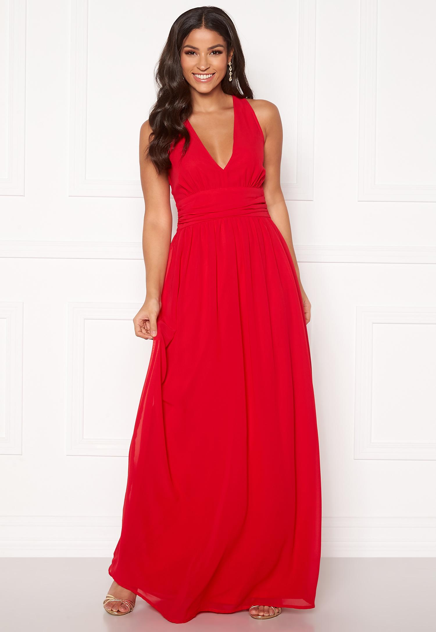 BUBBLEROOM Hampton dress Red Bubbleroom
