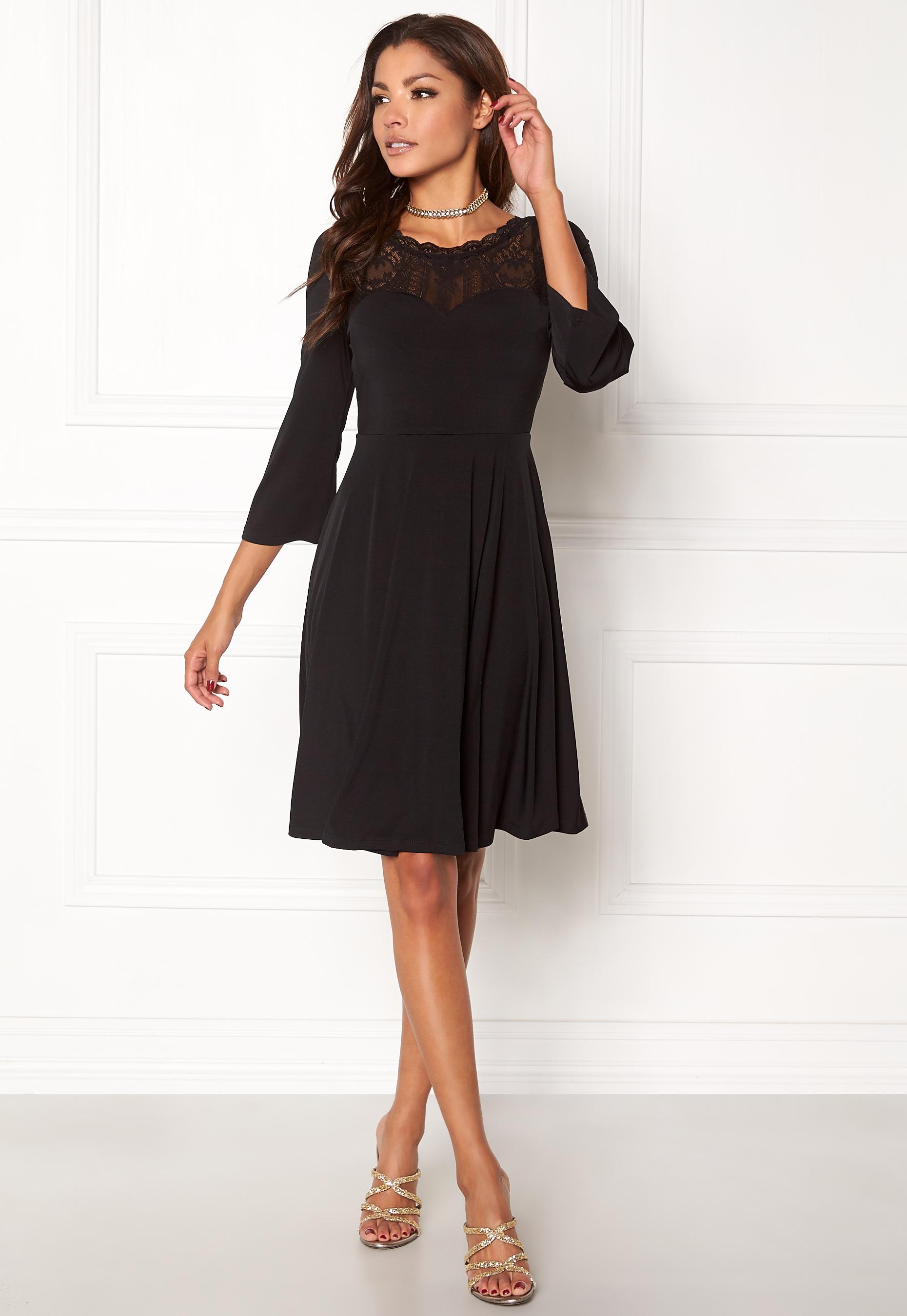Chiara Forthi Malisia Dress Black Bubbleroom