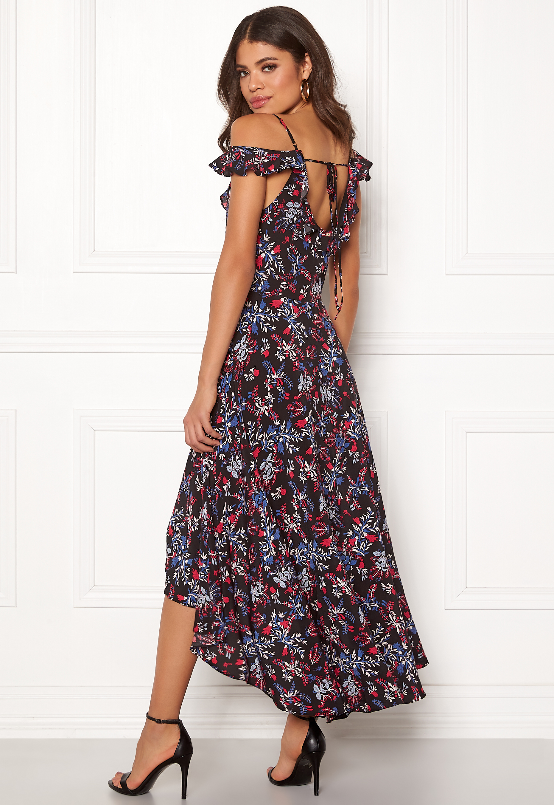 Flowers Bubbleroom Dress Bora Guess Graphic nPwO0k