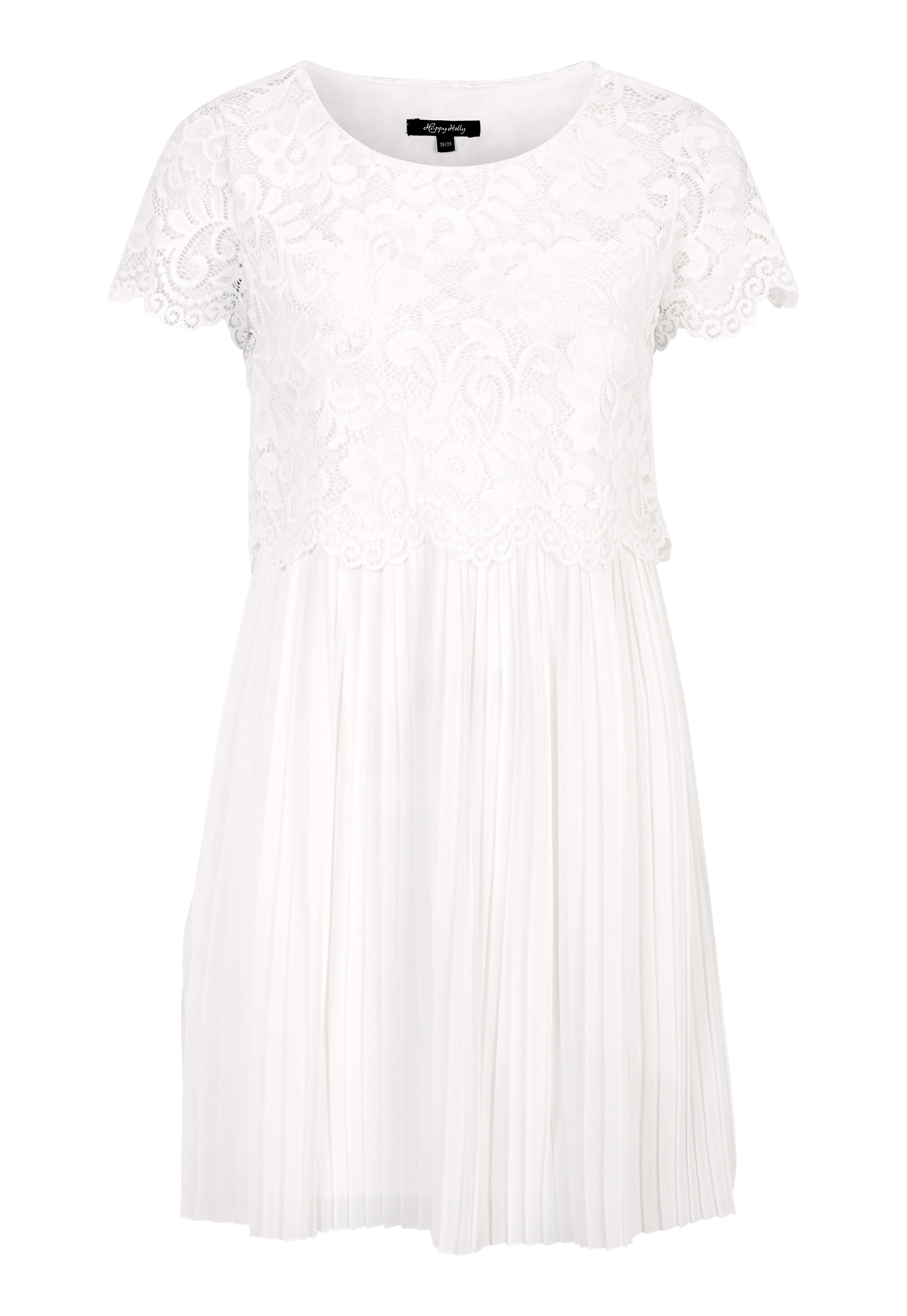 Happy Holly Blanche dress White Bubbleroom
