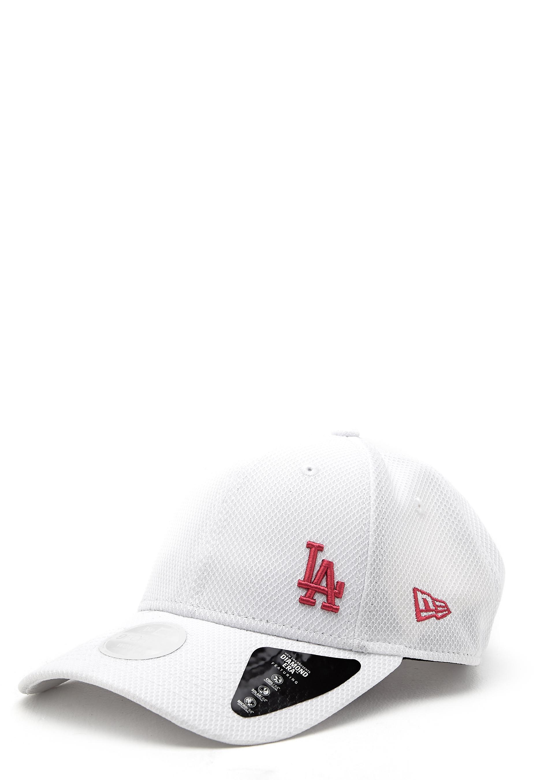 New Era 940 Diamond Cap White pink LOSDO - Bubbleroom ceaf71065c